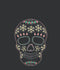 Lost Gods Women's Halloween Sugar Skull  Racerback Tank Top