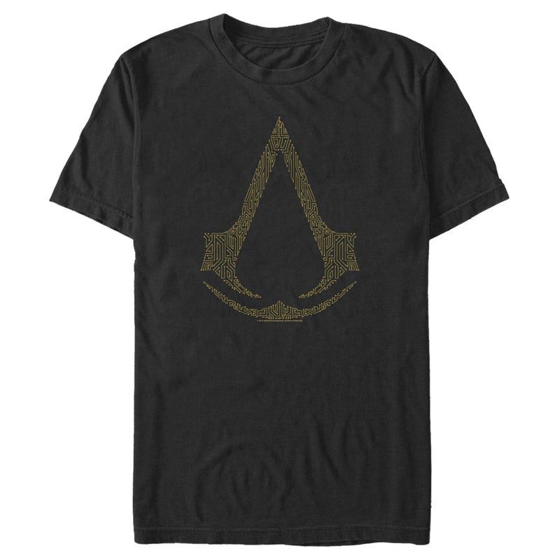 Assassin's Creed Men's Circuit Board Creed  T-Shirt  Black  M