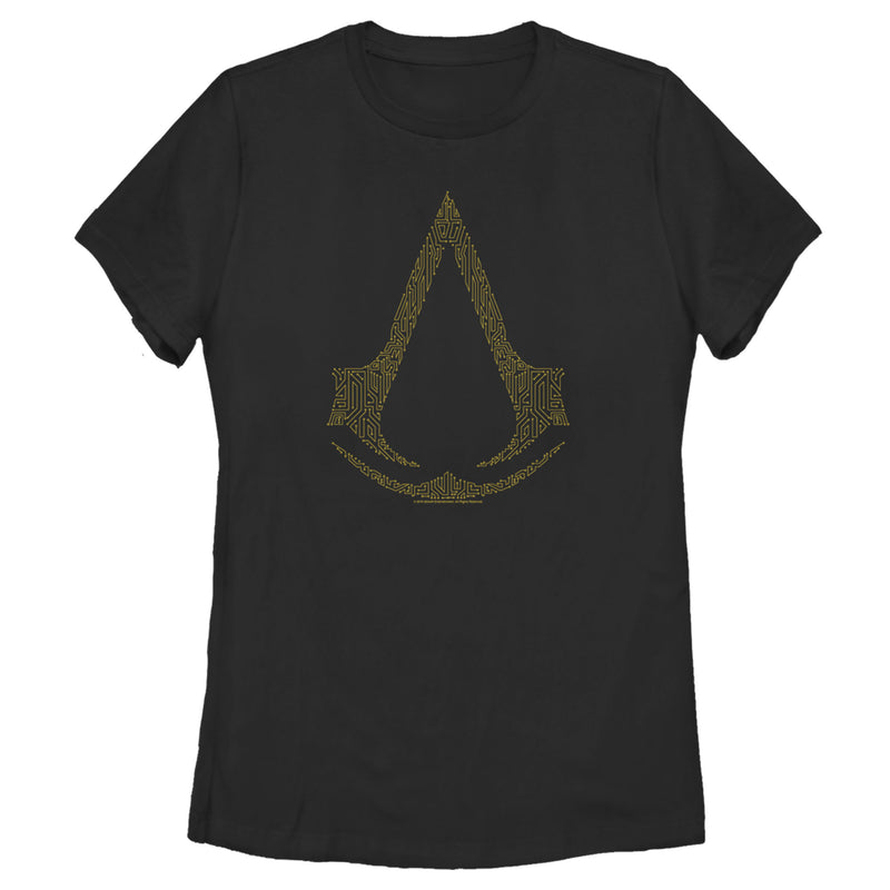 Assassin's Creed Circuit Board Creed Womens Graphic T Shirt