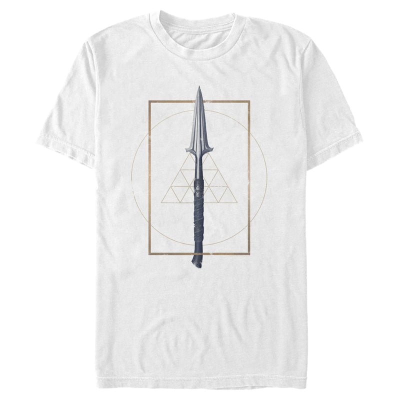 Assassin's Creed Men's Speer of Leonidas  T-Shirt  White  S