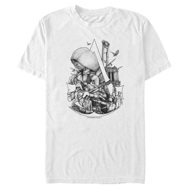 Assassin's Creed Unity Mens Graphic T Shirt