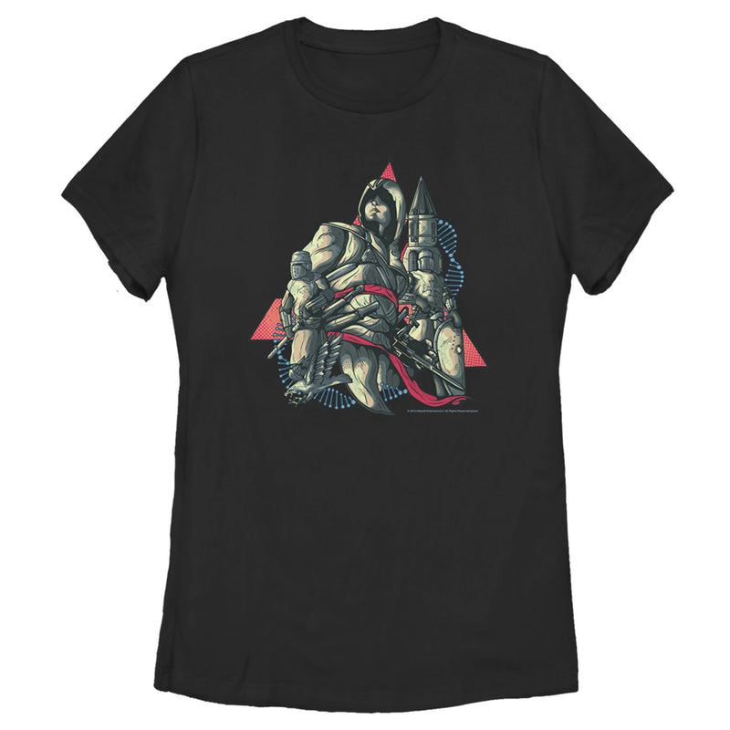 Assassin's Creed Women's Altair  T-Shirt  Black  XL