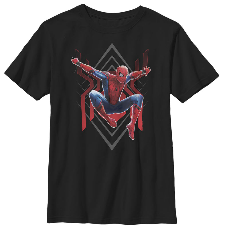 Marvel Spider-Man: Far From Home Diamond Boys Graphic T Shirt