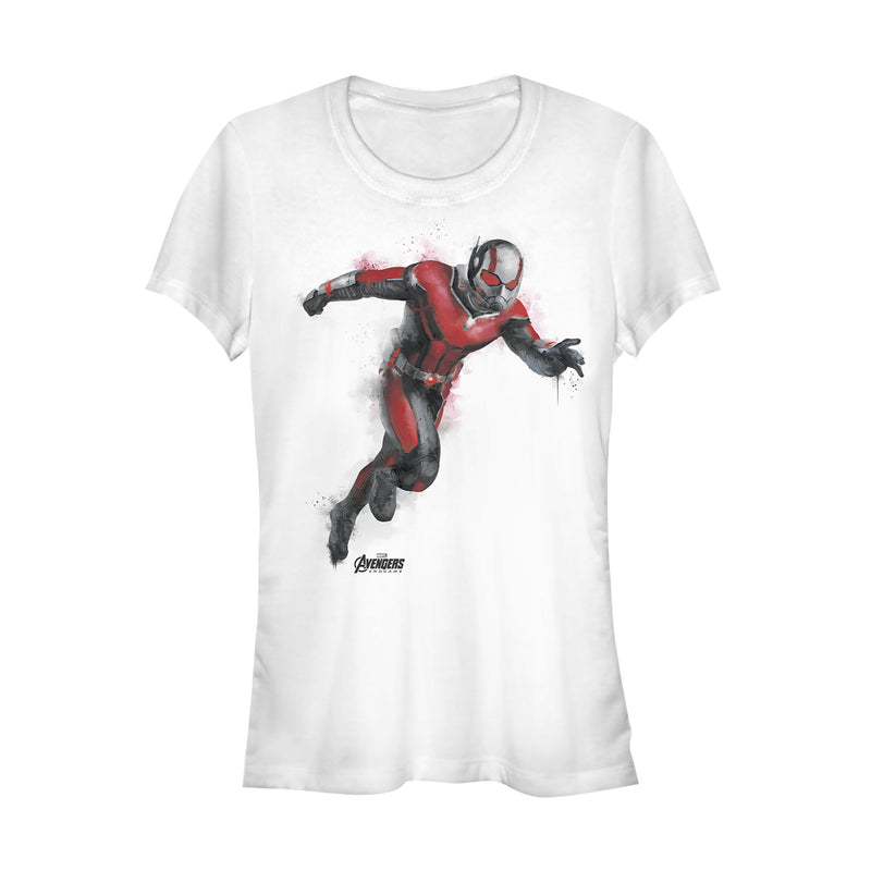 Marvel Junior's Avengers: Endgame Ant-Man Spray Paint  T-Shirt  White  2XL