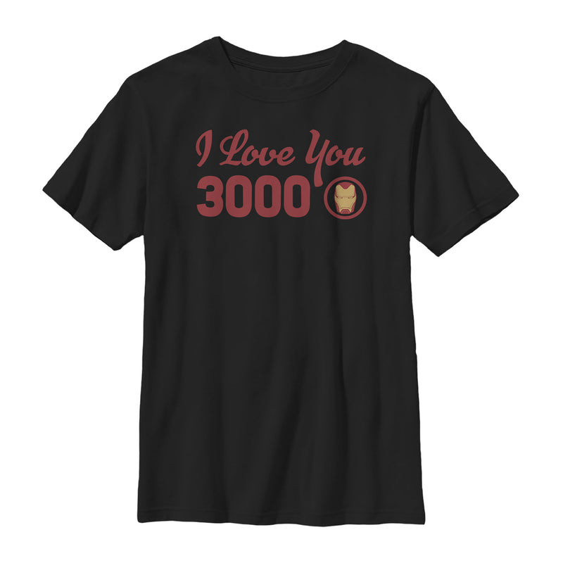 Marvel Iron Man Love 3000 Forever Boys Graphic T Shirt