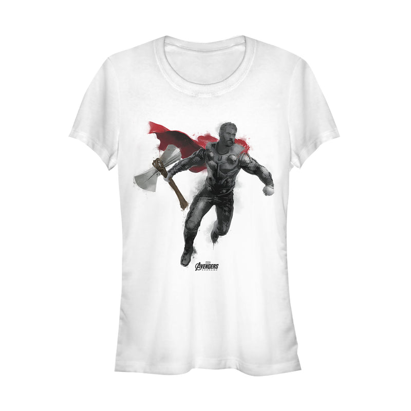 Marvel Avengers: Endgame Thor Spray Paint Juniors Graphic T Shirt