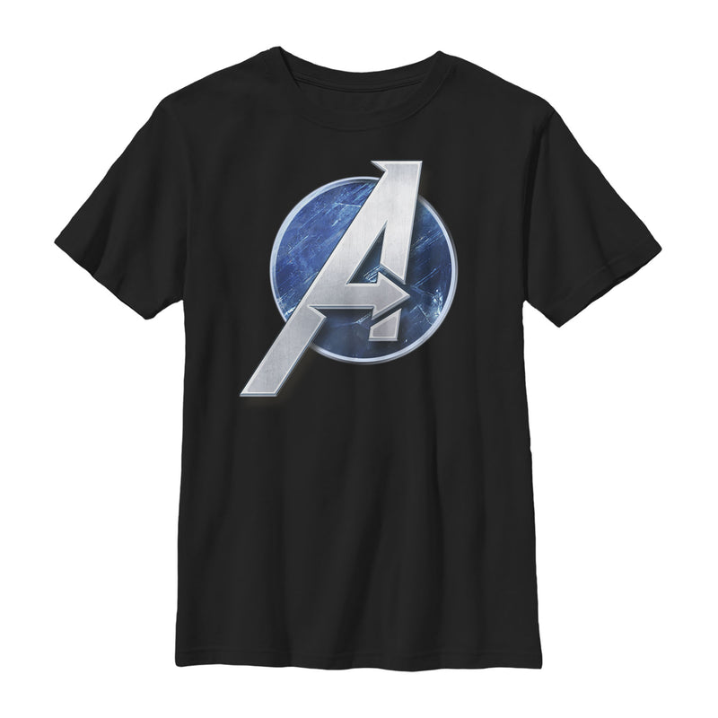 Marvel Avengers Game Classic Logo Boys Graphic T Shirt