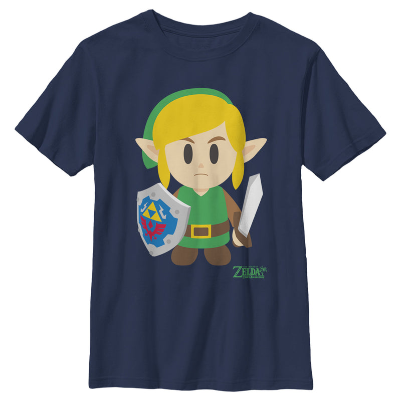 Nintendo Legend of Zelda Link's Awakening Avatar Boys Graphic T Shirt