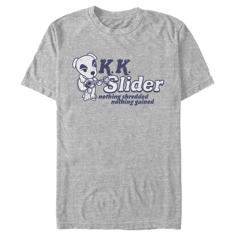Nintendo Animal Crossing K.K. Slider Nothing Shredded Nothing Gained Mens Graphic T Shirt