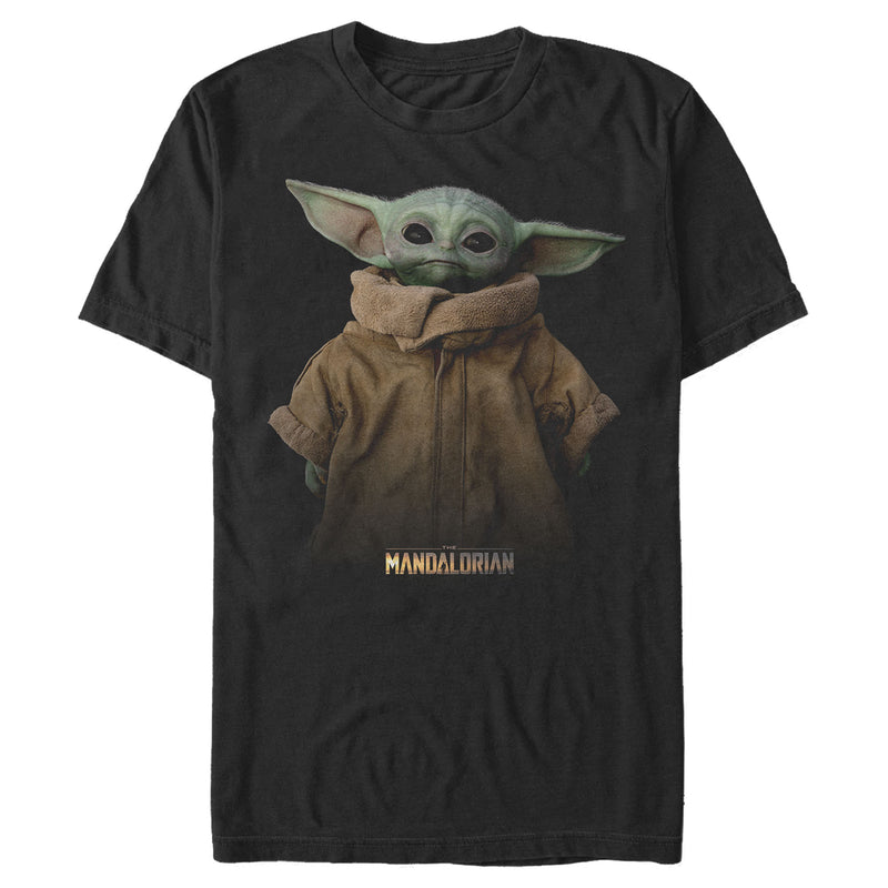 Star Wars The Mandalorian The Child Jacket Mens Graphic T Shirt