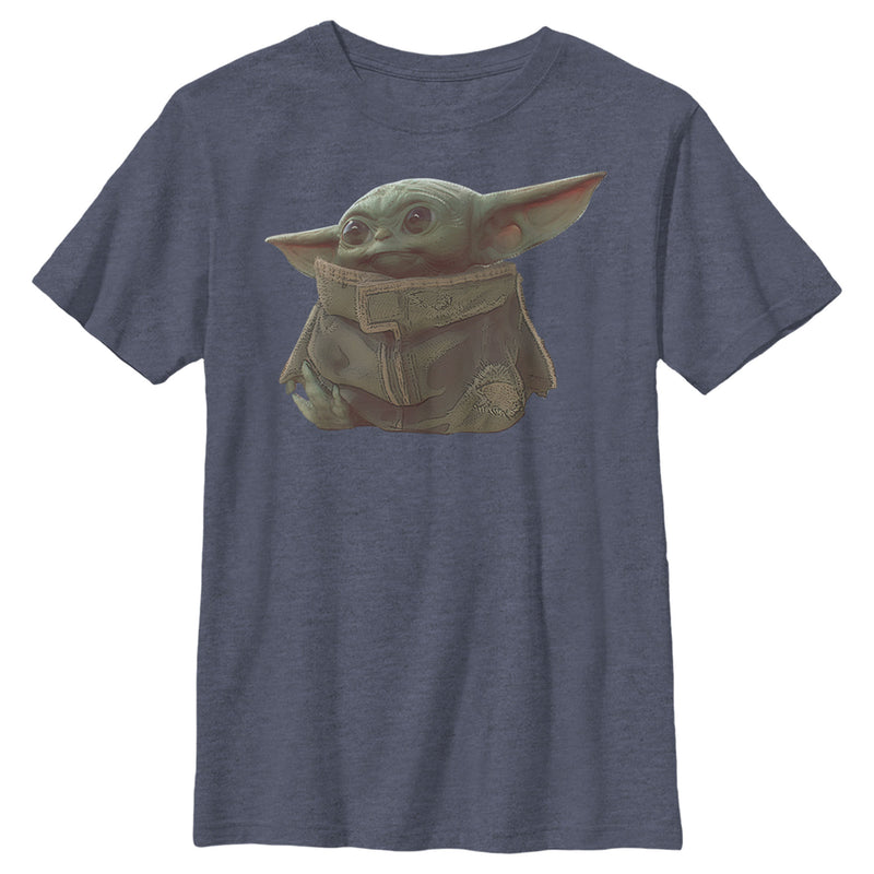 Star Wars The Mandalorian The Child Portrait Boys Graphic T Shirt