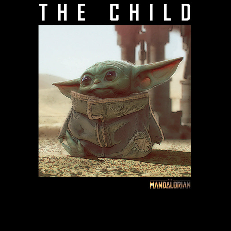 Star Wars The Mandalorian Boy's The Child Frame  T-Shirt