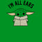 Star Wars The Mandalorian Boy's The Child I'm All Ears  T-Shirt