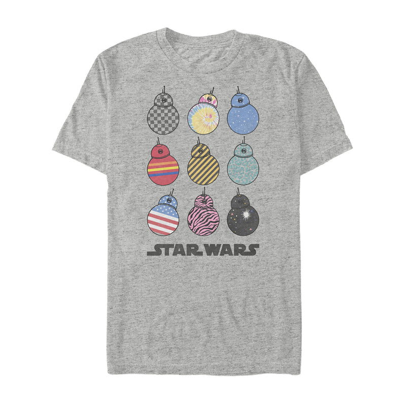 Star Wars: The Rise of Skywalker Men's BB-8 Fashion  T-Shirt  Athletic Heather  S