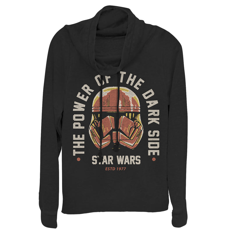Star Wars: The Rise of Skywalker Power of Sith Trooper Juniors Graphic Cowl Neck Sweatshirt