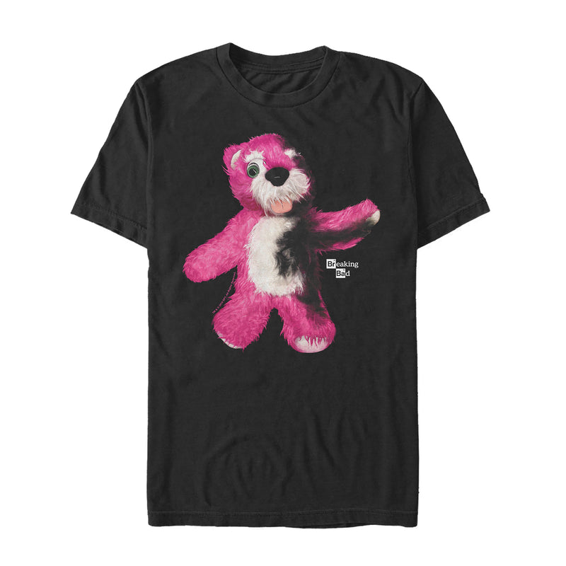 Breaking Bad Men's Teddy Bear  T-Shirt  Black  L