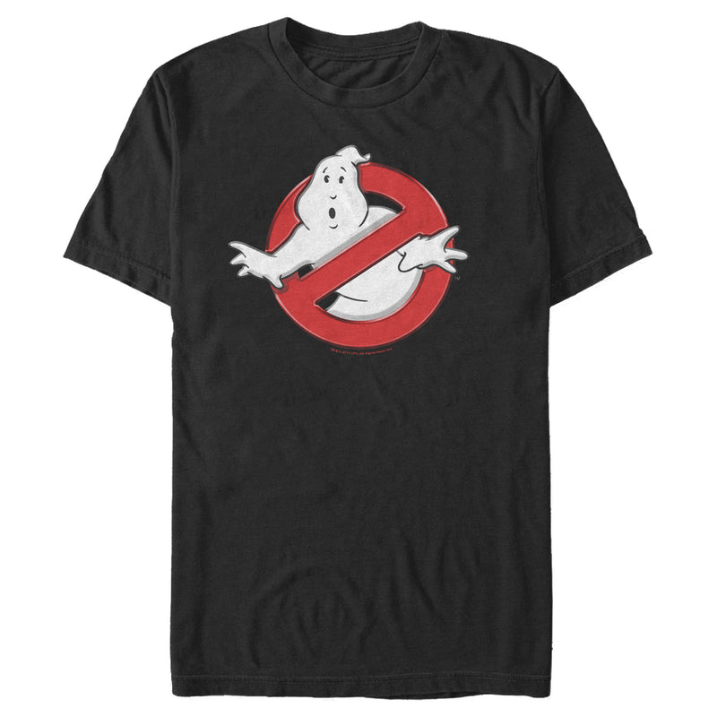 Ghostbusters Classic Logo Mens Graphic T Shirt