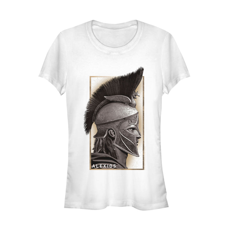 Assassin's Creed Junior's Odyssey Alexios Profile  T-Shirt  White  M