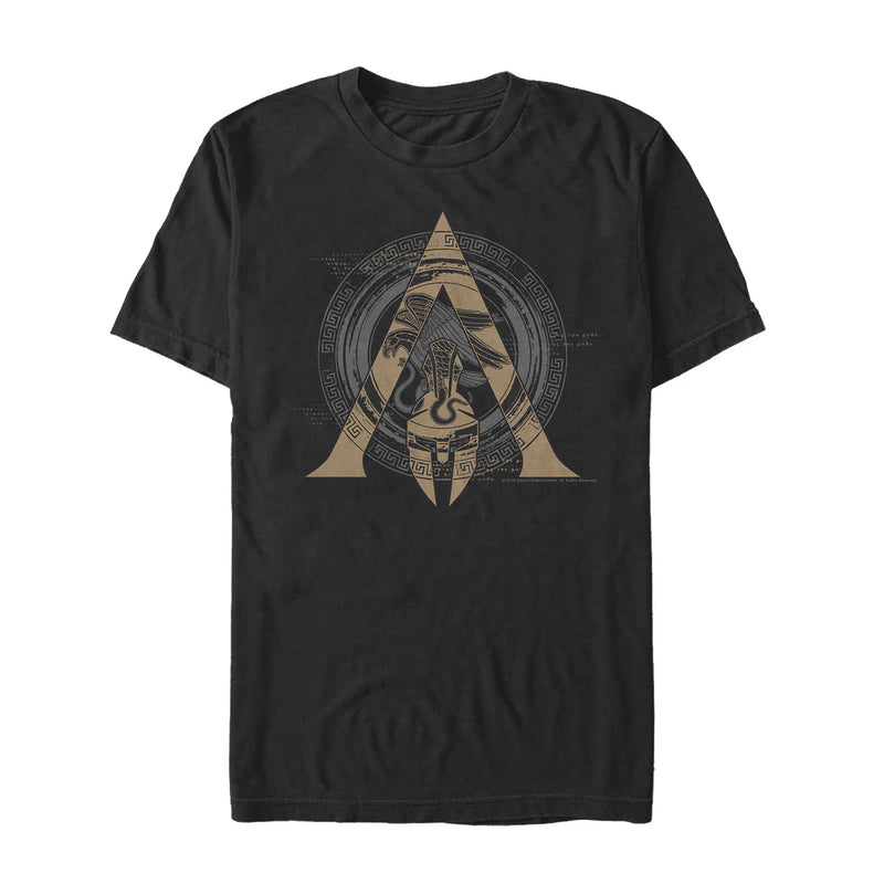 Assassin's Creed Men's Odyssey Ornate Crest  T-Shirt