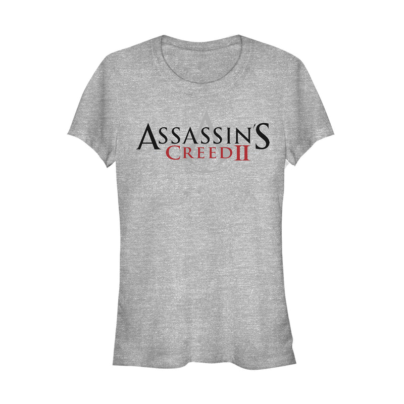 Assassin's Creed Junior's Classic Logo  T-Shirt  Athletic Heather  XL