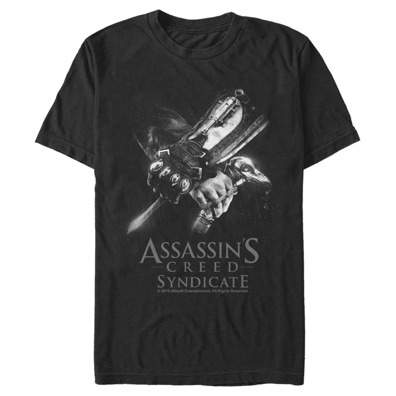 Assassin's Creed Syndicate Hidden Weapons Mens Graphic T Shirt
