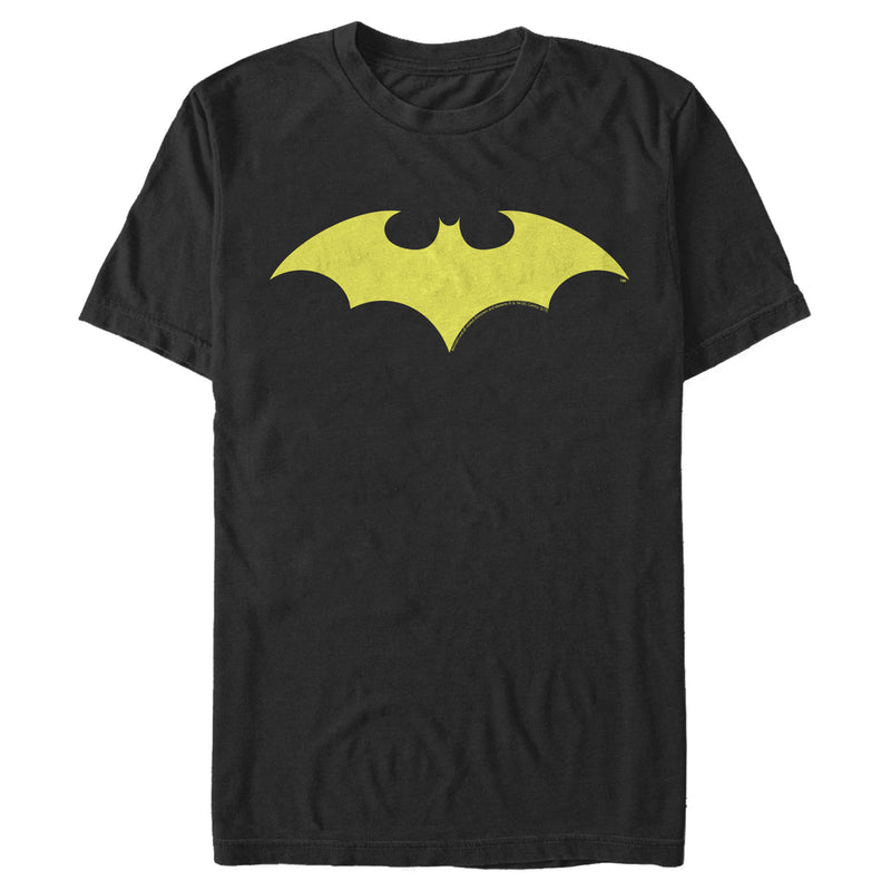 Batman Men's Winged Hero Symbol  T-Shirt