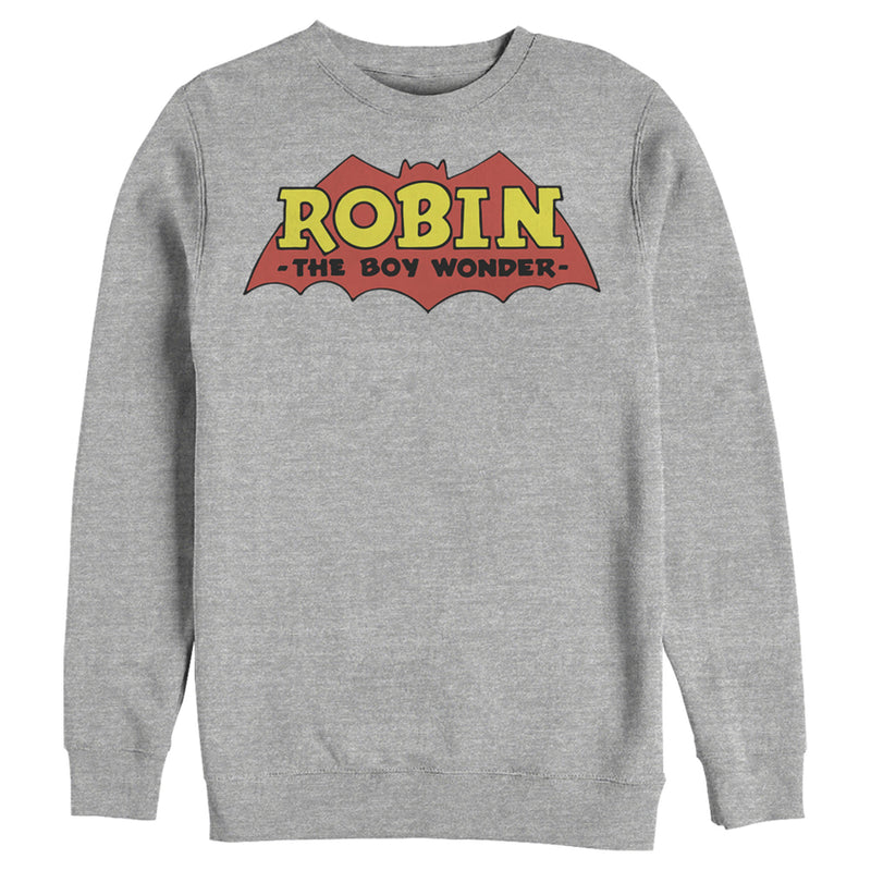 Batman Logo Robin Boy Wonder Mens Graphic Sweatshirt