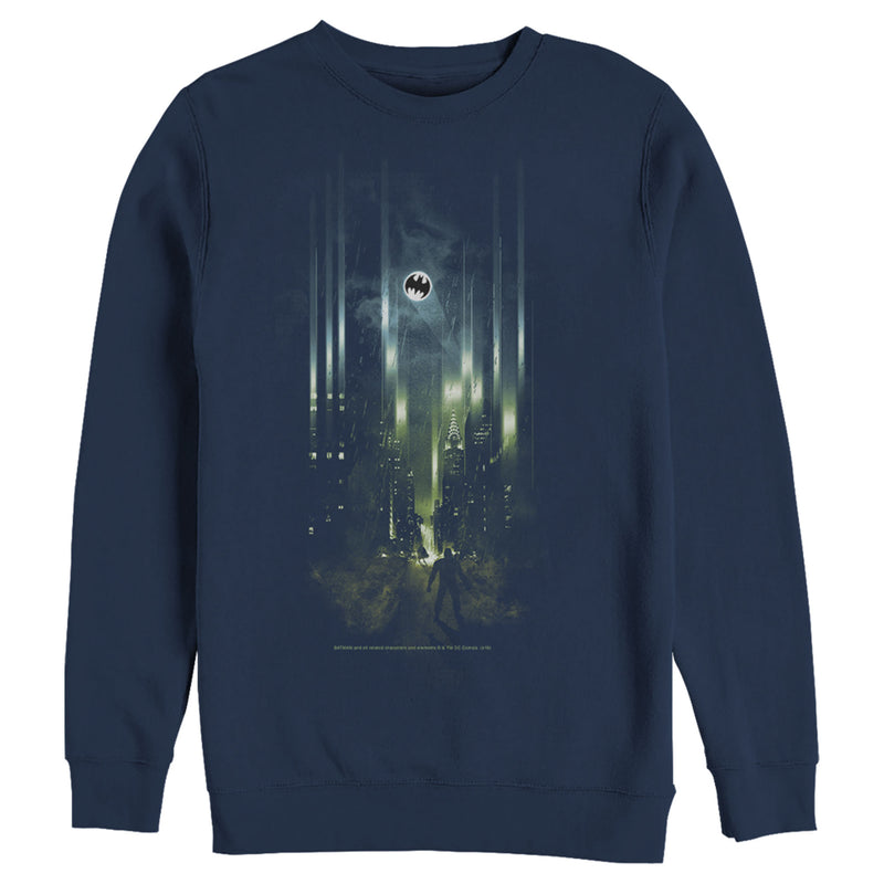 Batman Men's Gotham City Signal  Sweatshirt