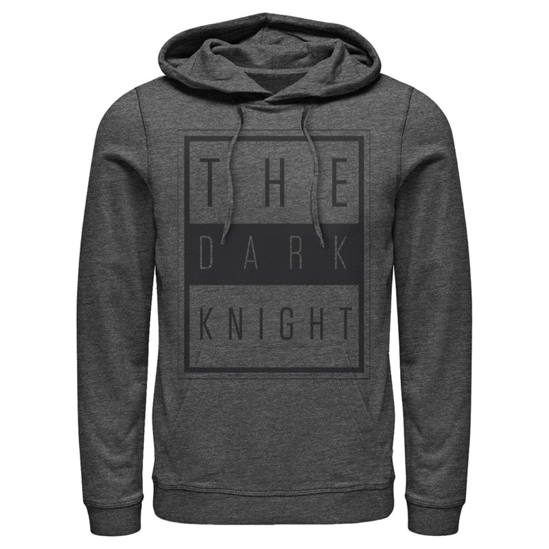 Batman Dark Night Frame Mens Graphic Lightweight Hoodie