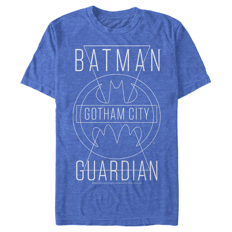 Batman Gotham City Guardian Mens Graphic T Shirt
