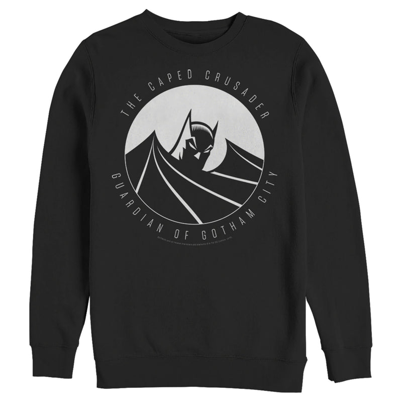 Batman Guardian of Gotham Mens Graphic Sweatshirt
