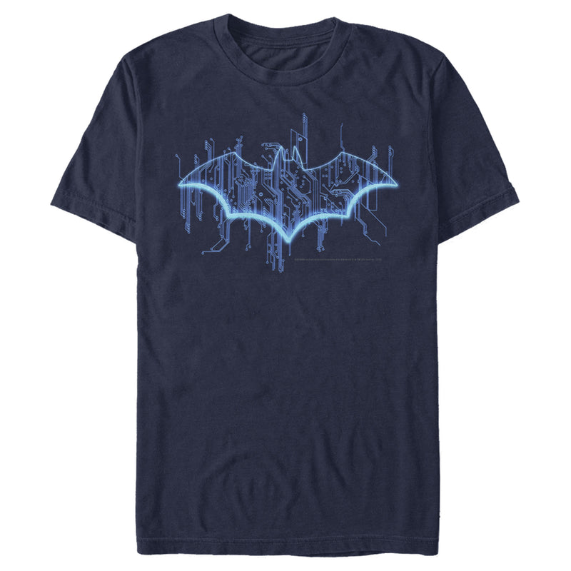 Batman Logo Digital Wing Mens Graphic T Shirt
