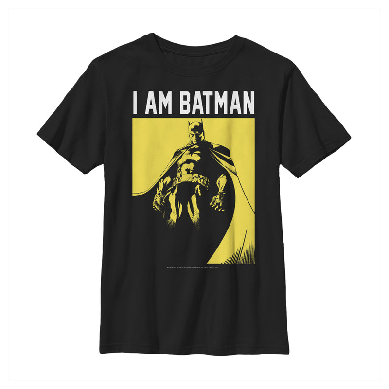 Batman Gotham's Hero Boys Graphic T Shirt