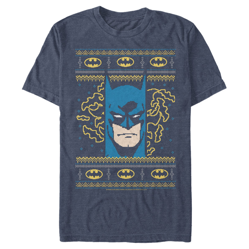 Batman Men's Ugly Christmas Masked Hero  T-Shirt