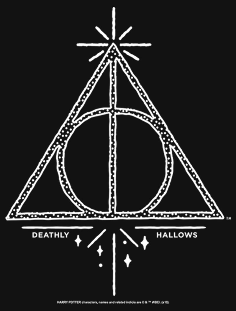 Harry Potter Girl's Deathly Hallows Symbol  T-Shirt