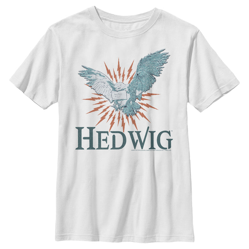 Harry Potter Hedwig Owl Flight Boys Graphic T Shirt