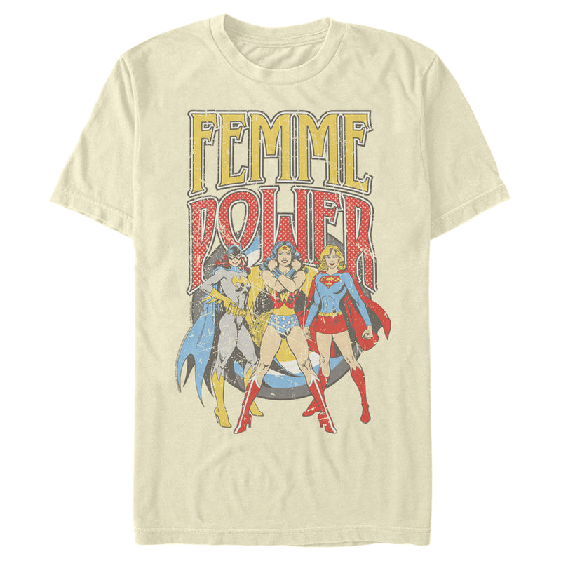 Justice League Femme Power Heroines Mens Graphic T Shirt