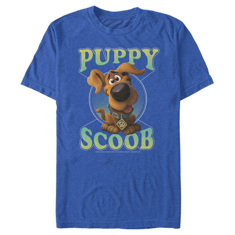 Scooby Doo Men's Puppy Circle  T-Shirt