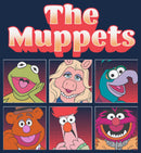 Disney Muppets Men's Boxed Characters  T-Shirt