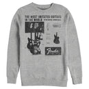 Fender Men's The Most Imitated  Sweatshirt  Athletic Heather  L