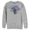 Fortnite Men's Raven Victory Royale  Sweatshirt  Athletic Heather  L
