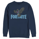 Fortnite Men's Raven Logo  Sweatshirt
