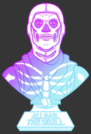 Fortnite Men's Skull Trooper All Hail Glow  Sweatshirt