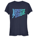 Fortnite Junior's Victory Royale Gradient Logo  T-Shirt  Navy Blue  2XL