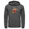 Fortnite Men's Durr Burger  Pull Over Hoodie  Charcoal Heather  3XL