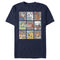 Pound Puppies Men's Character Box  T-Shirt  Navy Blue  M