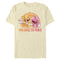 Power Rangers Men's Who Saves The World  T-Shirt  Beige  3XL