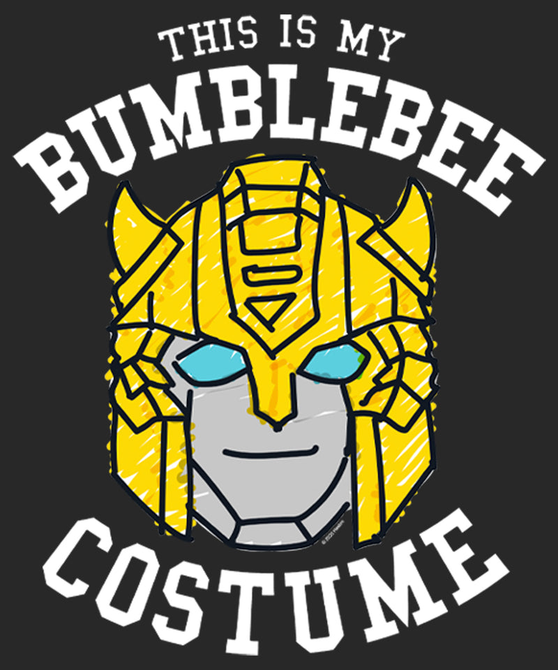 Transformers Women's This is My Bumblebee Costume  T-Shirt