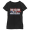 Marvel Girl's The Falcon and the Winter Soldier Spray Paint  T-Shirt  Black  XL