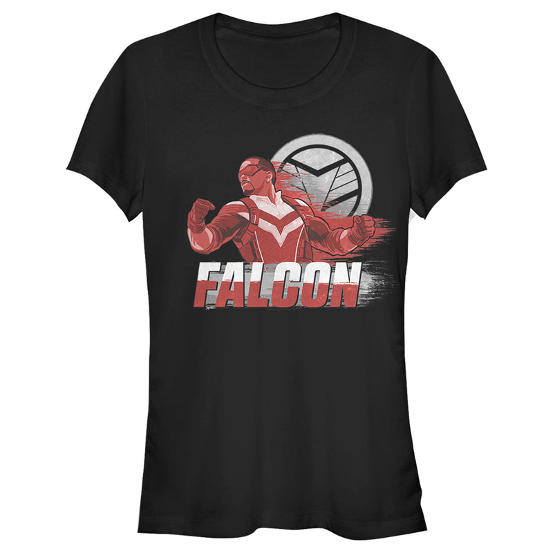 Marvel Junior's The Falcon and the Winter Soldier Falcon Speed  T-Shirt  Black  2XL